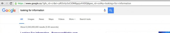 Screen shot looking for information on Google jpeg