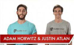 Adam Horwitz and Justin Atlan
