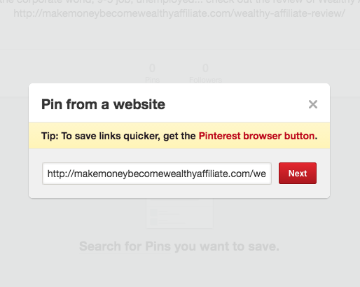 Pinterest Pin From A Website