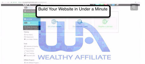 Build Your Website Under 60 Seconds