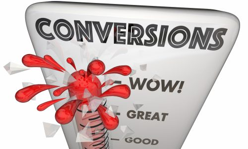 Conversions Made Sales Online