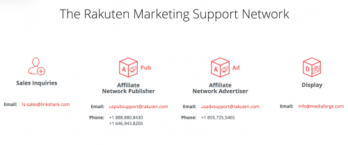 Rakuten Marketing Support