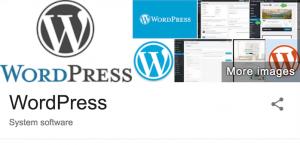 WordPress Image Logo