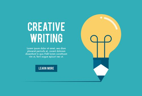 Creative Writing Light Bulb
