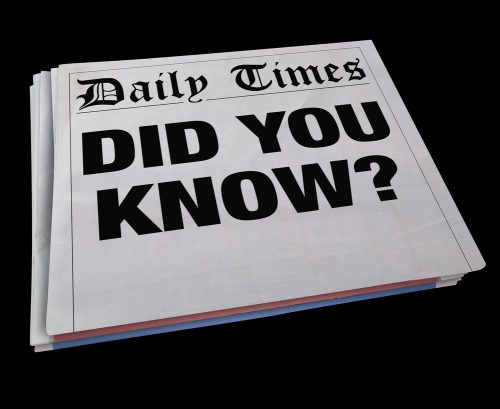 Did You Know Headline