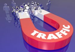 Magnet Attracting Audience Traffic