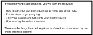 Do Not Want To Get Scammed