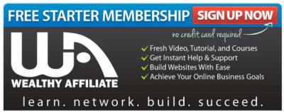 Free Starter Membership Wealthy Affiliate